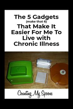 5 gadgets that Make My Life with Chronic Illness Easier Chronic Fatigue Syndrome, Chronic Illness, Chronic Pain, Menopause Symptoms, Autoimmune Disease, Crohn's Disease, Crps, Health Resources, Invisible Illness