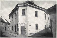 Eger, Hibay Károly utca - Tolli-Hibay-ház régen