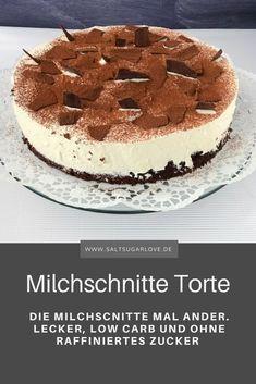 Milchschnitte Torte, einfach und lecker