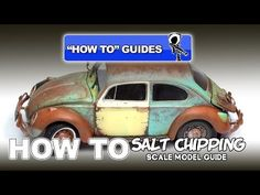 SALT CHIPPING - SCALE MODEL HOW TO GUIDE - YouTube