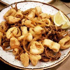 A quien le apetecen unas #rabas de @bodegalamontana? Para abrir el apetito. #vdverano #Santander #igsantander