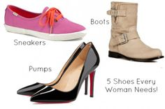 Five Essential Shoe Styles You Can't Live Without www.HighFashionMagazine.com
