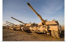 M1 Abrams tanks at Camp Warhorse <<< repinned by http://www.geistreich78.net