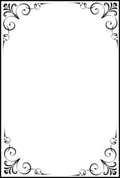 carterie, pergamano et tableaux - Page 7 Frame Border Design, Boarder Designs, Page Borders Design, Borders For Paper, Borders And Frames, Molduras Vintage, Certificate Border, Frame Clipart, Book Of Shadows