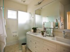 HGTV Smart Home 2013: Master Bathroom Pictures. Built by Glenn Layton Homes in Paradise Key South Beach, Jacksonville Beach, Florida.