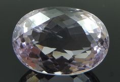 10.96 Ct Natural Purple Amethyst Gem Oval Checkerboard Cut