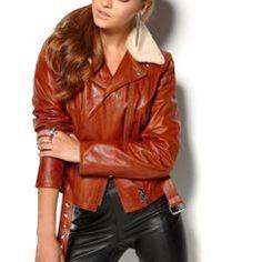 Begagnad Jofama retro woman terracotta leather,stl 36 #jofama #leather