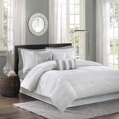 Madison Park Sheridan 7-Piece Comforter Set - Overstock™ Shopping - Great Deals on Madison Park Comforter Sets