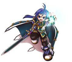 Grand Chase's Ronan Erudon, Abyss Knight