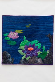 Water Lilies by Marjorie Post | The Dragonfly Studio