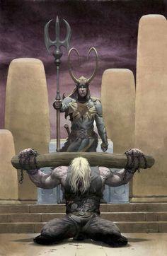Thor & Loki - Blood Brothers.