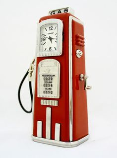 Gas pump mini timepiece