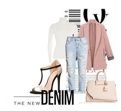 """""""City Walk"""" by hawkeye4 on Polyvore featuring Charlotte Russe, Michael Kors, H&M, GUESS, Envi, American Eagle Outfitters, women's clothing, women, female and woman"""