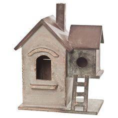 I collect birdhouses.