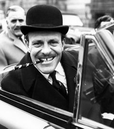 What a bounder. All dandy comic legend Terry-Thomas really liked was 'jolly eager girls' Terry Thomas, British Comedy, British Actors, British Humor, Classic Hollywood, Old Hollywood, British Stereotypes, Dandy Comic, English Comedians
