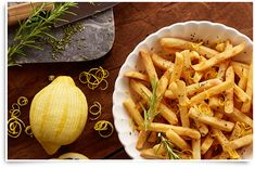 #Modifry your fries with our Lemon & Rosemary Superfries recipe. Visit McCain.ca to discover more #McCainFoods