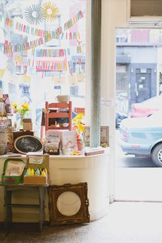 the sweetest little gift shop. fun finds for babies and a great selection of cards.