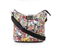 789140f9efd0 tokidoki x Hello Kitty Shoulder Bag  Circus Collection Hello Kitty Kitchen