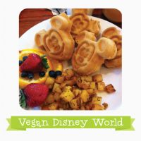 Looking for reviews from Disney Resorts? Check here. What's vegan at the Disney World Resorts? Animal Kingdom Lodge Boma, Breakfast Vegan Option:Mickey Waffles(ask chef to make, can be GF too,) Po...