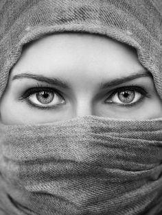 eyes - I love black & white photos