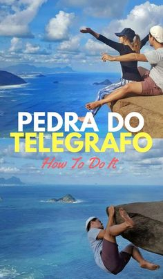 You've seen people hanging off the cliff in Rio, Brazil and you want to know how to do it too. Here's how to get to Pedra do Telegrafo, Rio de Janeiro. Brazil Travel, Belize Travel, Us Travel, Places To Travel, Travel Destinations, Mexico Travel, Travel Deals, Travel Hacks, Travel Essentials