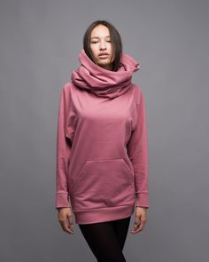 Collar Hoodie - Kapuzenpullover By : Buffet Clothing