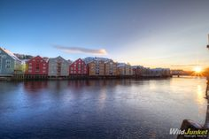Trondheim, Norway - I know, I know, another Scandinavian country, but look how beautiful it is! Photos like this one make me want to pack up and jump on a plane right away.