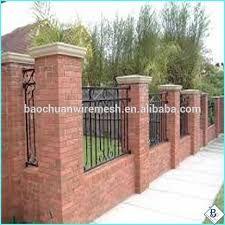 Resultado de imagen para proteccion de jardin con barda de ladrillo