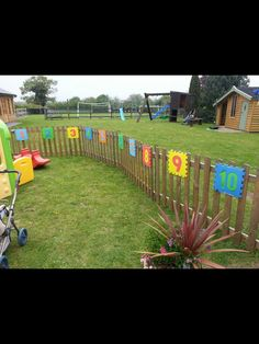 Outdoor Number Line