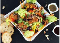 Salade+tiède+aux+oreilles+de+Porc+Basque+