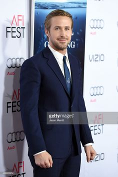 Actor Ryan Gosling attends the closing night gala premiere of Paramount Pictures' 'The Big Short' during AFI FEST 2015 at TCL Chinese Theatre on November 12, 2015 in Hollywood, California.