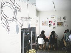 The Flying Pan Blue, 이태원동, South Korea - Favorite place in Iteawon for coffee and sandwiches.