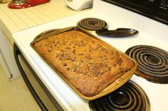 LE meilleur que j'ai fait. Gâteau aux bananes et aux grains de chocolat.