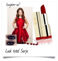 """Red love"" by sofipalacio on Polyvore featuring Belleza y Johnny Loves Rosie"