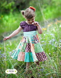 El vestido de Plumeria por Corinna alta costura otoño 2012