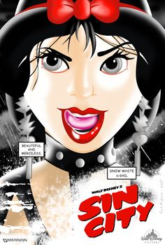 Sin City Welcomes Disney Princesses To Be Badass.