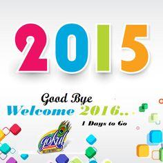 #GoodBye2015 #Welcome2016