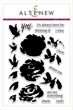Painted Rose Stamp Set – Altenew
