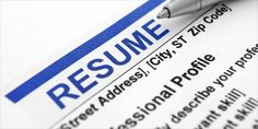 What are the criteria that make or break a resume? @InADocument