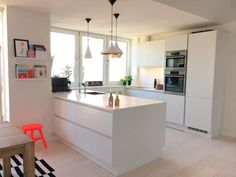Kitchen Makeover Secrets That Will Save You Money Open Kitchen And Living Room, Kitchen Dining, Kitchen Decor, Kitchen Renovation Design, Kitchen Interior, Best Kitchen Designs, Modern Kitchen Design, Danish Kitchen, Kitchen Cabinet Remodel