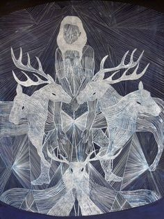 Pierre Marie, Art Et Illustration, Black White Art, Inspiration Art, Naive Art, Oeuvre D'art, Design Crafts, Sculpture, Dark Art