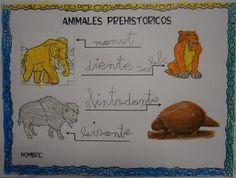 LA CLASE DE MIREN: mis experiencias en el aula: ANIMALES PREHISTÓRICOS Projects For Kids, Winnie The Pooh, Comics, Disney Characters, Sistema Solar, School, Ideas, Men Cave, Primitives