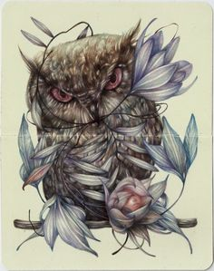 Surreal Animal Drawings. Marco Mazzoni creates these amazingly surreal drawings, come and see the video.  More Information and more from this Artist, Press the Image.
