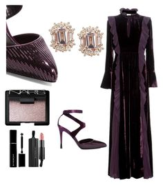 """""""Untitled #156"""" by ysmnfashion ❤ liked on Polyvore featuring Fendi, Tom Ford, NARS Cosmetics and Givenchy"""