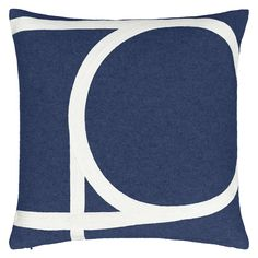 BuyHouse by John Lewis Track Cushion, Navy Online at johnlewis.com