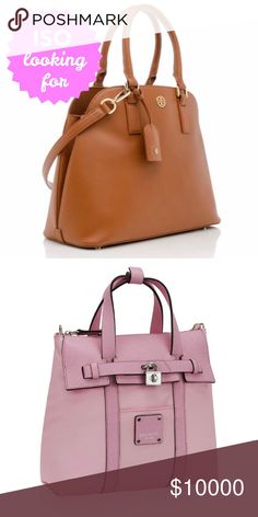 ISO in search of these items In search of the following for trade. Prefer NWT or excellent condition. Will also consider buying if price is right.  • Tory Burch Robinson Open Dome Satchel - preferably in black but will consider other colors • Henri Bendel Mini Jetsetter Convertible Backpack - will consider all colors  Thanks in advance! 😊 Tory Burch Bags