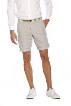 Masons Herren Bermuda Shorts Torino Elegance Grau | SAILERstyle Bermuda Shorts, Masons, Torino, Blazer, Elegant, Ss, Fashion, Poplin, Shorts
