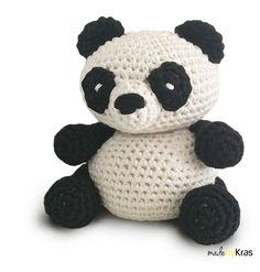 Free Crochet Pattern Panda Bear Hat : Cup cozies, Pandas and Cups on Pinterest