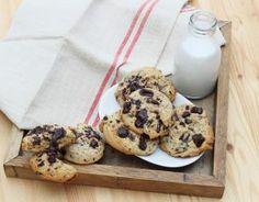 Recette - Cookies aux pépites de chocolat en pas à pas
