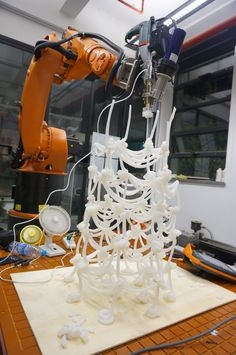 Autonomous Tectonics, Robotic Fabrication
